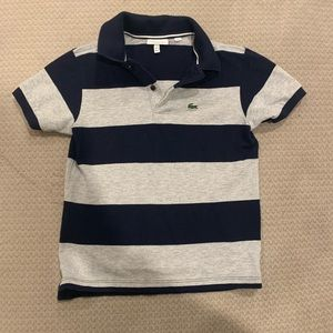 Boys Lacoste polo size 10